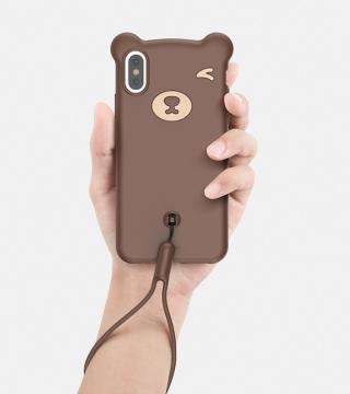 Ốp dẻo Gấu Baseus Bear iPhone X / Xs / Xs Max